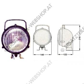 Arbeitsscheinwerfer PVC Handgriff  Ein- u. Ausschalter 24V