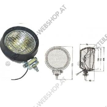 Arbeitsscheinwerfer Gummigehäuse 12V 55W