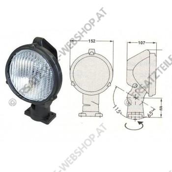 Arbeitsscheinwerfer PVC mit  Ein- / Ausschalter 24V 70W