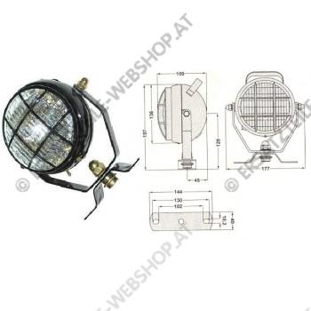 Arbeitsscheinwerfer drehbar mit Ein- / Ausschalter