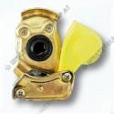 Luftdruckkupplungskopf 2 gelb M16x1,5 trekker