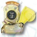 Luftdruckkupplungskopf 2 gelb M16x1,5