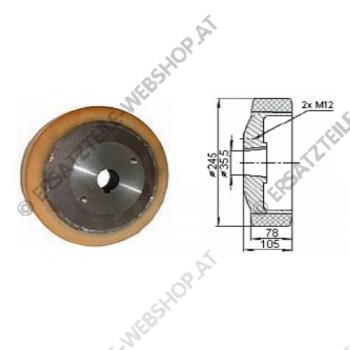 Antriebsrad VU  Durchmesser 245 mm