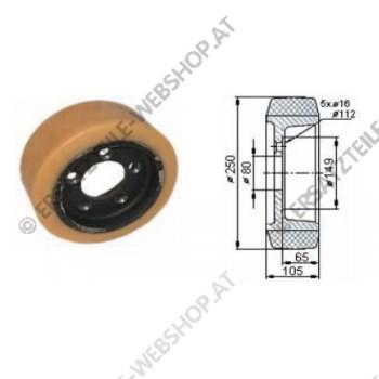 Antriebsrad VU Durchmesser 250 mm