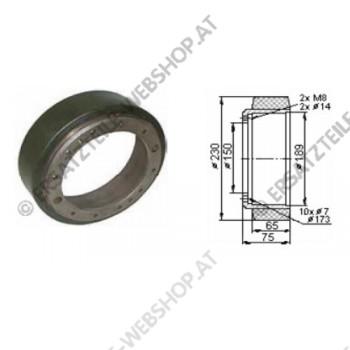 Antriebsrad PF Durchmesser 230 mm
