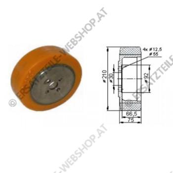 Antriebsrad TA Durchmesser 210 mm