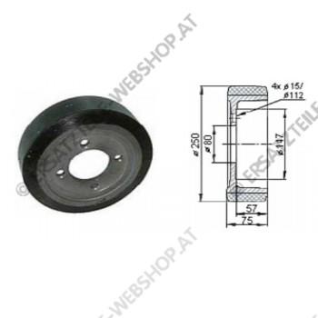 Antriebsrad PU Durchmesser 250 mm