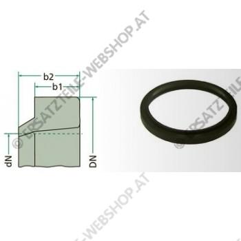 Abstreifer Kunststoff 80-88