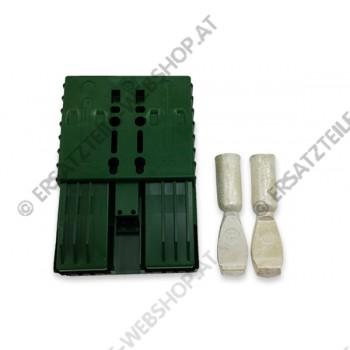 Akku Stecker  SBE 320  320 Amp 72 V grün