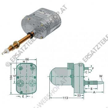 Wischermotor 120gr 105-95mm